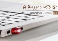 ADATA DashDrive Durable UD310 Gem-like USB Flash Drive in use