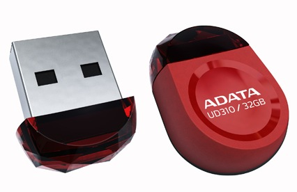 ADATA DashDrive Durable UD310 Gem-like USB Flash Drive red