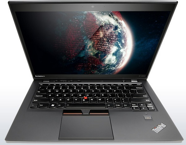 Lenovo ThinkPad X1 Carbon Touch Optimized for Windows 8 front