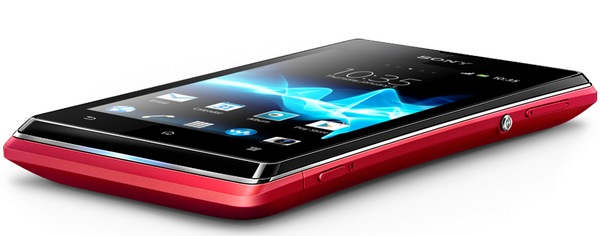 Sony Xperia E Affordable Smartphone bottom