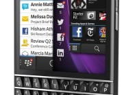 BlackBerry Q10 gets QWERTY Keyboard and 3.1-inch Super AMOLED black angle left