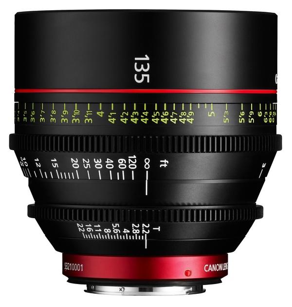 Canon Cinema Prime CN-E135mm T2.2 L F Lens 1