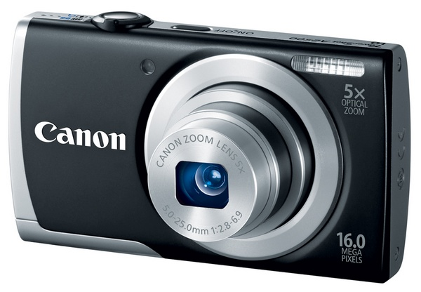 Canon PowerShot A2500 Budget Digital Camera black