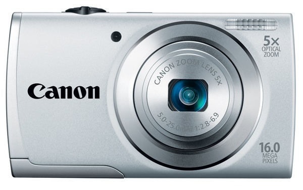Canon PowerShot A2500 Budget Digital Camera silver
