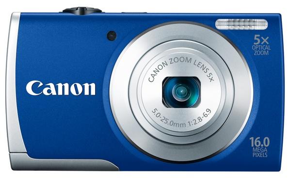 Canon PowerShot A2600 digital camera blue