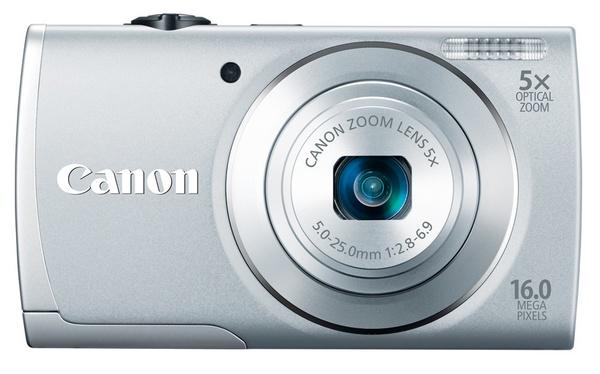 Canon PowerShot A2600 digital camera silver
