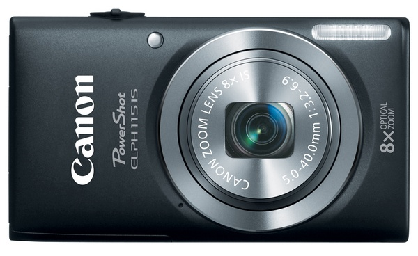 Canon PowerShot ELPH 115 IS Camera black