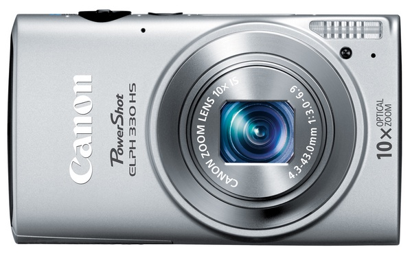 Canon PowerShot ELPH 330 HS Camera silver