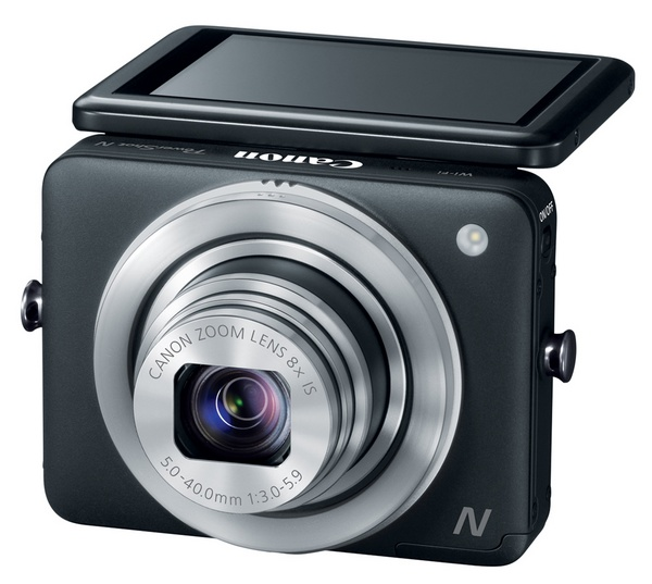 Canon PowerShot N Camera tilt display