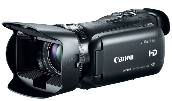 Canon VIXIA HF G20 Prosumer Full HD Camcorder
