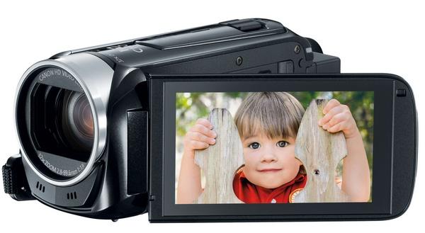 Canon VIXIA HF R42 WiFi Full HD Camcorder lcd display