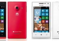 Huawei Ascend W1 Windows Phone 8 Smartphone
