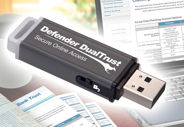Kanguru Defender DualTrust Encrypted USB Drive Secures Web Browsing