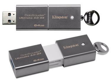 Kingston DataTraveler Ultimate 3.0 G3 USB 3.0 Flash Drive