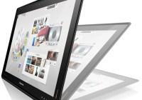 Lenovo IdeaCentre Horizon Table PC laying 1