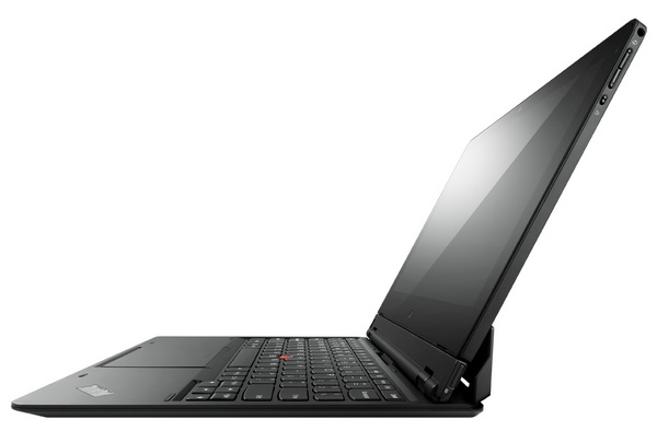 Lenovo ThinkPad Helix Convertible Ultrabook table side