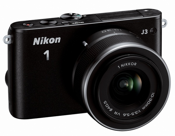 Nikon 1 J3 mirrorless camera black