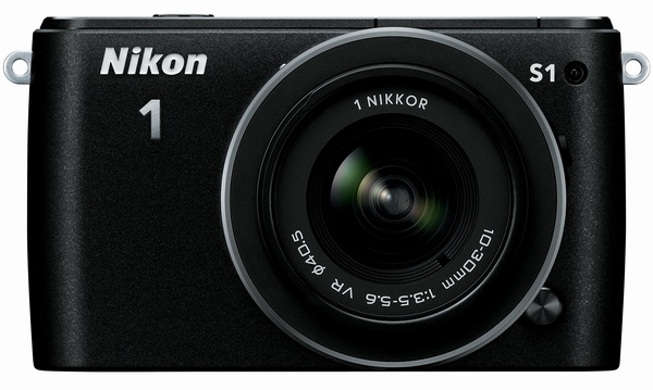 Nikon 1 S1 mirrorless camera black
