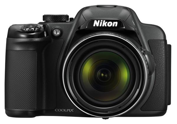 Nikon CoolPix P520 42x Ultra Zoom Camera black