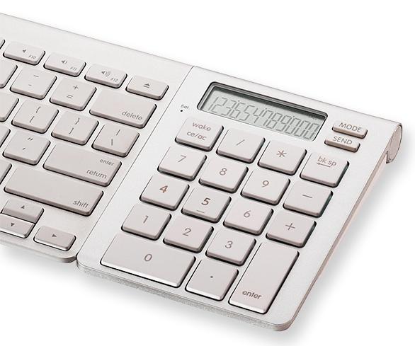 SMK-Link ICalc Bluetooth Calculator Keypad Adds A Numpad/Calculator To Apple Wireless Keyboard