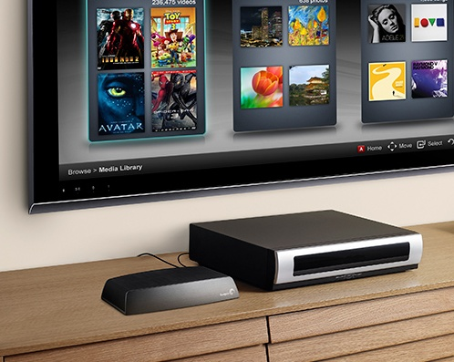 Seagate Central Shared Storage with Ethernet, DLNA and AirPlay connected TV