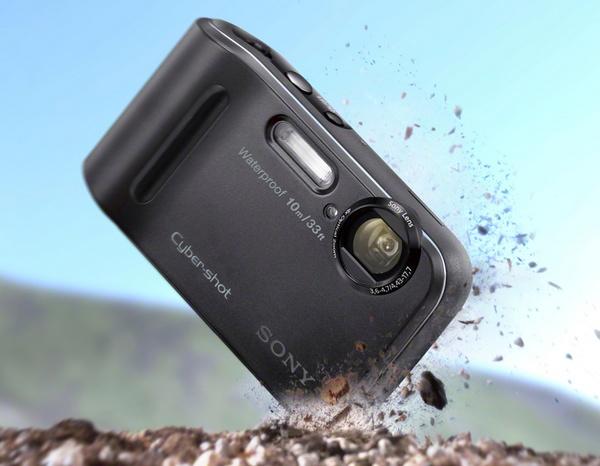 Sony Cyber-shot DSC-TF1 Rugged Camera shockproof