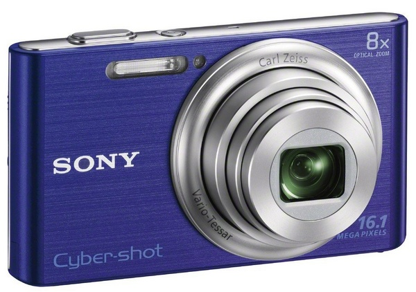 Sony Cyber-shot DSC-W730 digital camera blue