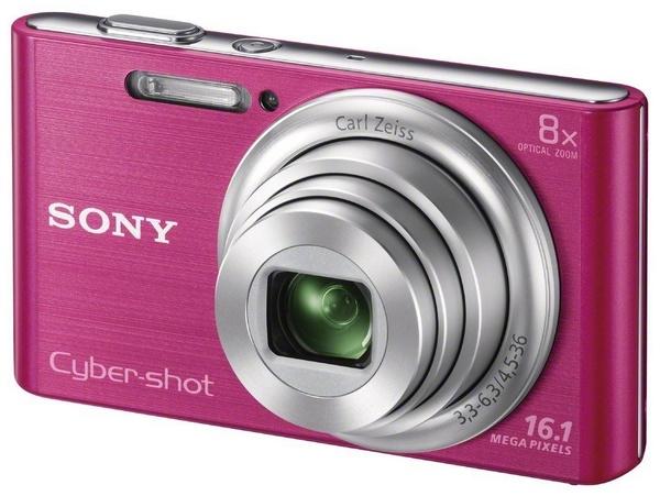 Sony Cyber-shot DSC-W730 digital camera pink