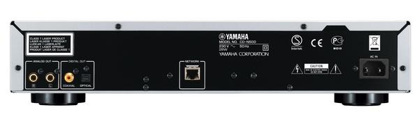 Yamaha CD-N500 Network CD Player back
