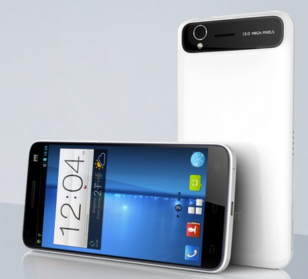 ZTE Grand S - 6.9mm Thinnest 5-inch Full HD Smartphone