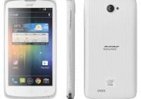 Acer Liquid C1 Intel Atom-powered Smartphone white