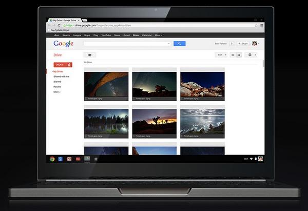 Google Chromebook Pixel front