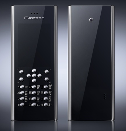 Gresso Crusier Titanium Luxury Phone front