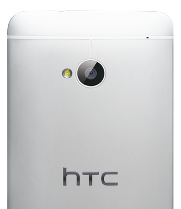 HTC One Android Smartphon back