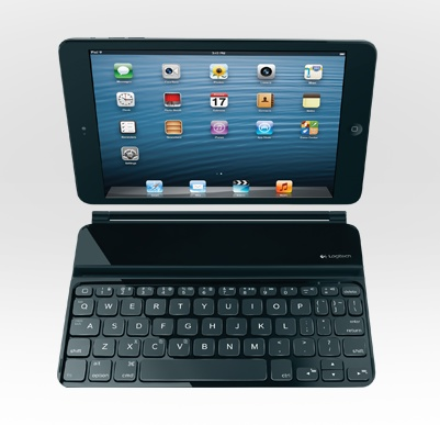 Logitech Ultrathin Keyboard mini for iPad mini front