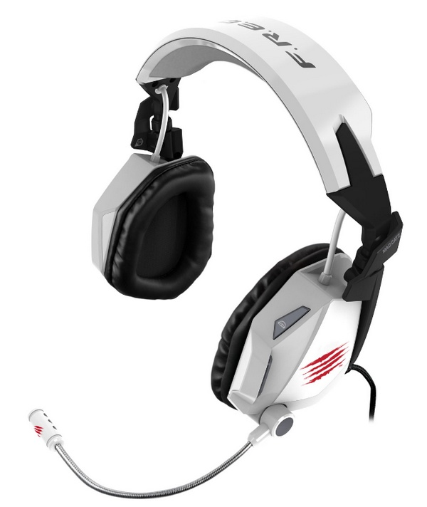 Mad Catz F.R.E.Q. 7 7.1 Surround Sound Gaming Headset white