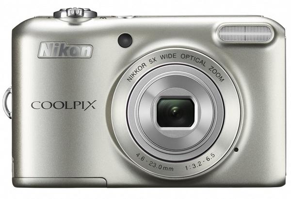 Nikon CoolPix L28 compact digital camera silver
