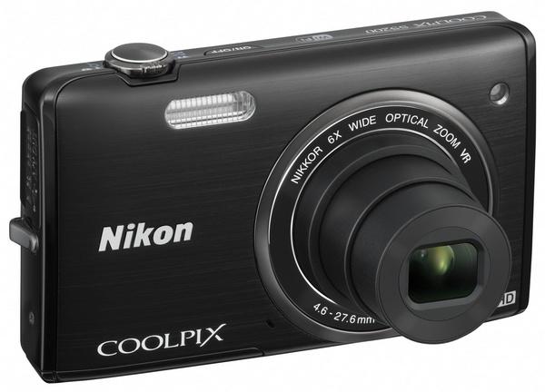 Nikon CoolPix S5200 digital camera black