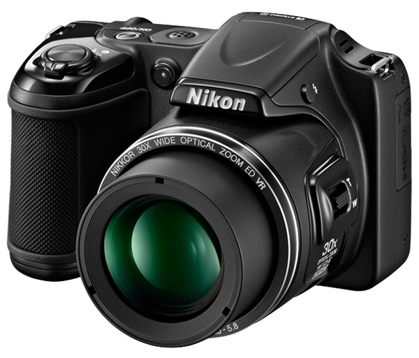 Nikon Coolpix L820 with 30x Optical Zoom black