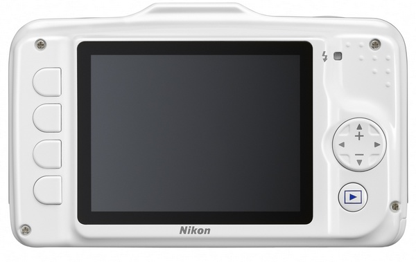 Nikon Coolpix S31 budget-friendly rugged digital camera back
