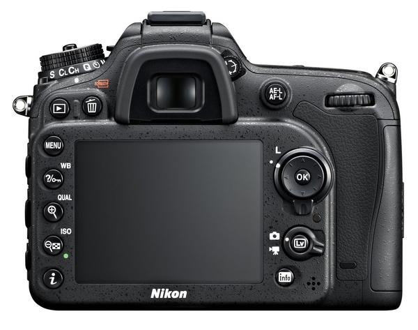 Nikon D7100 DX-Format DSLR back