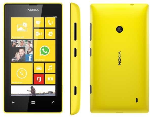 Nokia Lumia 520 is an Affordable WP8 Smartphone yellow