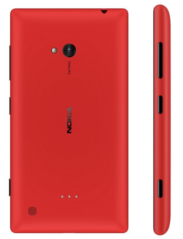 Nokia Lumia 720 Mid-range Smartphone back side