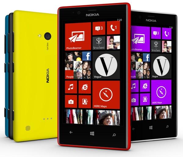 Nokia Lumia 720 Mid-range Smartphone