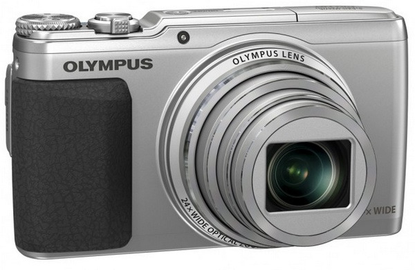 Olympus STYLUS SH-50 iHS Long-zoom Point-and-Shoot with 5-Axis Video Stabilization black silver
