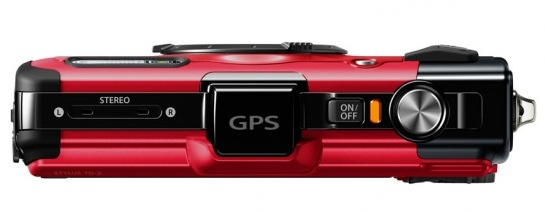 Olympus STYLUS TOUGH TG-2 iHS Flagship Rugged Camera top