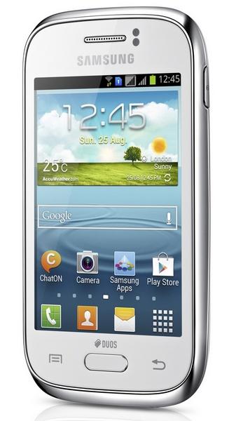 Samsung Galaxy Young entry-level Smartphone dual sim