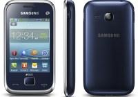 Samsung REX 60 (GT-C3312R) smart feature phone blue