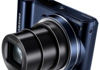 Samsung WB250F Smart Camera with WiFi and Touchscreen flash open