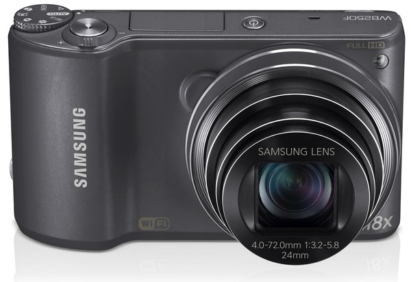 Samsung WB250F Smart Camera with WiFi and Touchscreen metal